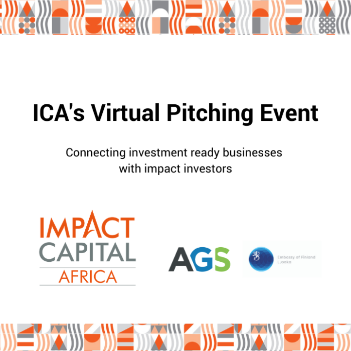 Welcome to the ICA Virtual Pitching Event